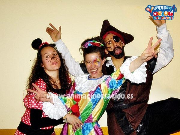 Animación de fiestas infantiles en Galicia