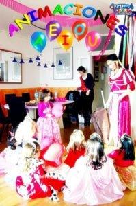 Fiestas infantiles en Galicia a domicilio
