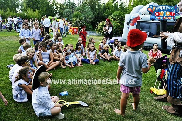 Fiestas infantiles en Galicia