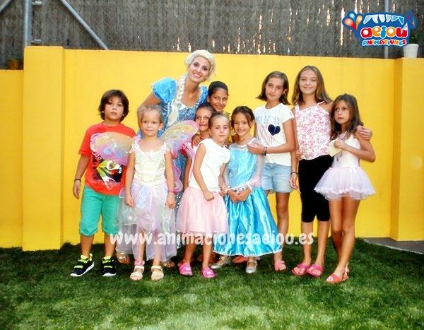 Animaciones para fiestas temáticas infantiles Frozen en Galicia