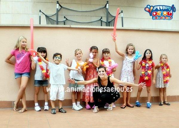 Animadores de fiestas infantiles en Galicia