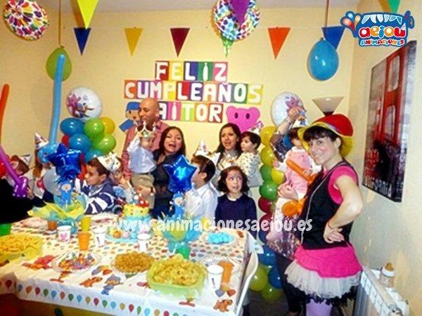 Animadores para fiestas infantiles a domicilio en Galicia