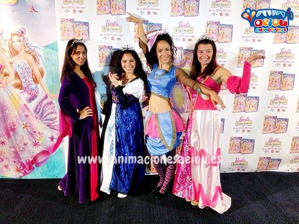 Fiesta temática de Princesas en Galicia
