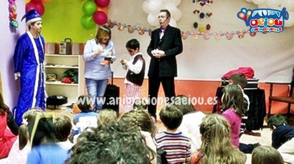 Magos para fiestas a domicilio en Galicia