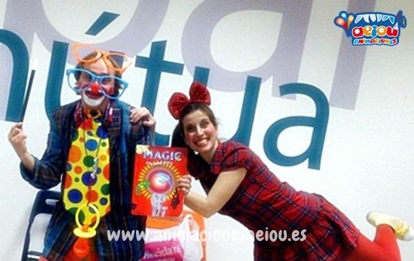 Payasos para cumpleaños infantiles en Galicia