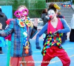 Payasos para fiestas a domicilio en Galicia