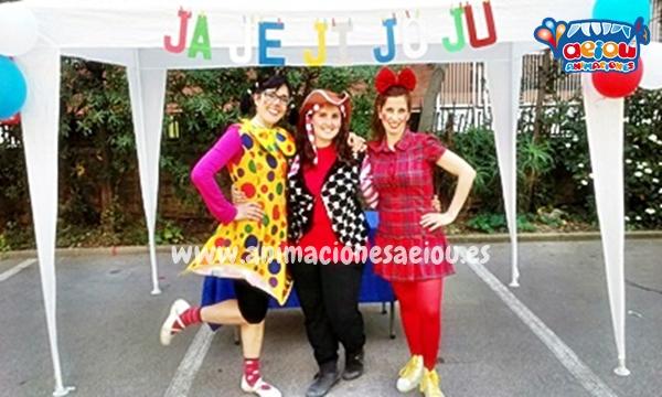 Payasos para fiestas de niños en Galicia