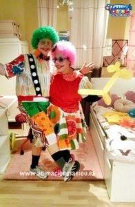 Payasos para fiestas infantiles en Galicia a domicilio