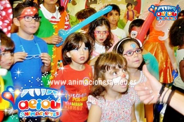 Animación para fiestas de cumpleaños infantiles en Bueu