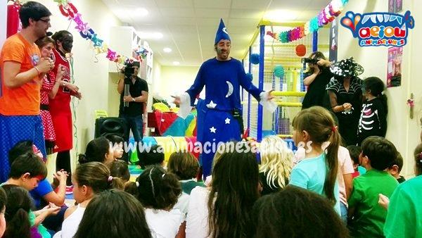 Animación para fiestas de cumpleaños infantiles en Narón