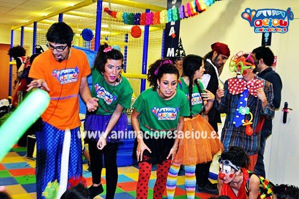 Animación para fiestas de cumpleaños infantiles en Oleiros