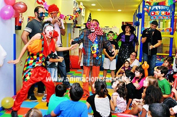 Animación para fiestas de cumpleaños infantiles en Santiago de Compostela
