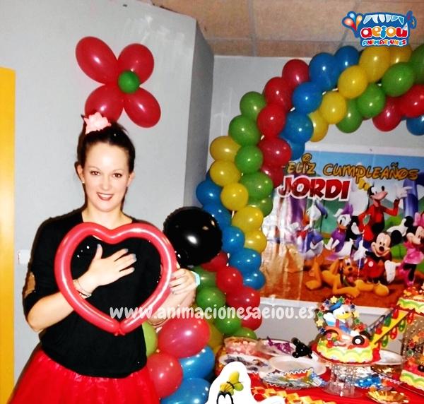 Animación para fiestas de cumpleaños infantiles en Viveiro