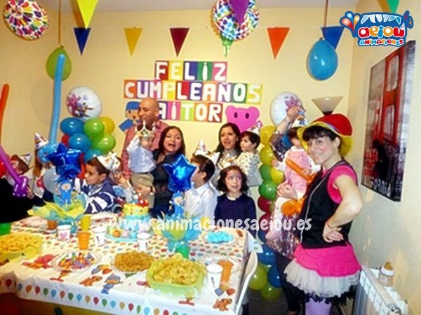 Animaciones para fiestas Infantiles en Santiago de Compostela