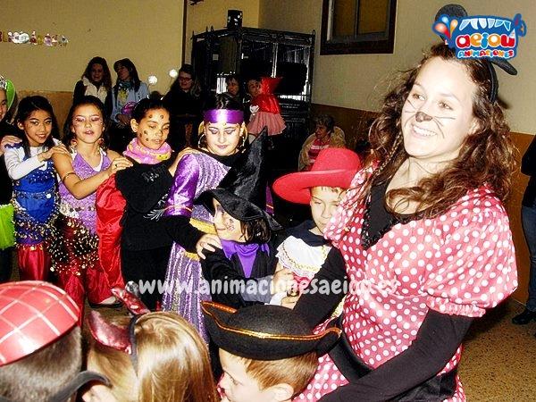 Animaciones para fiestas de cumpleaños infantiles en Villalba