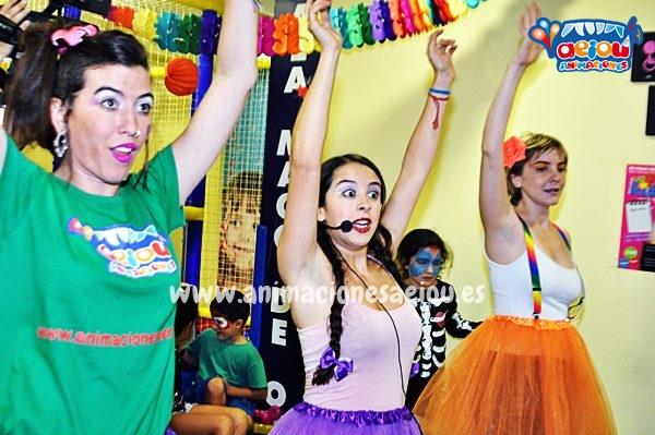 Animaciones para fiestas de cumpleaños infantiles y comuniones en A estrada