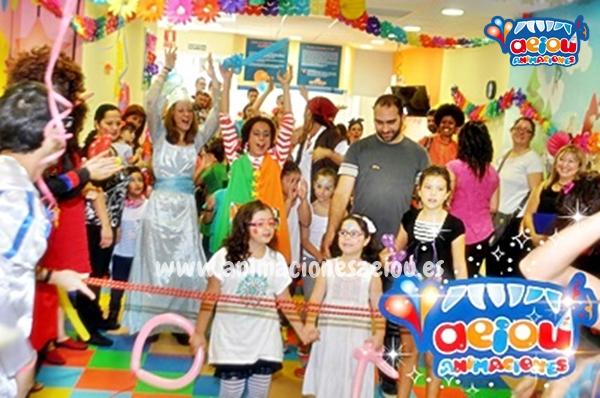 Animaciones para fiestas de cumpleaños infantiles y comuniones en Bueu