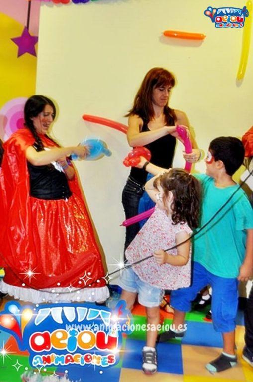 Animaciones para fiestas de cumpleaños infantiles y comuniones en Moaña