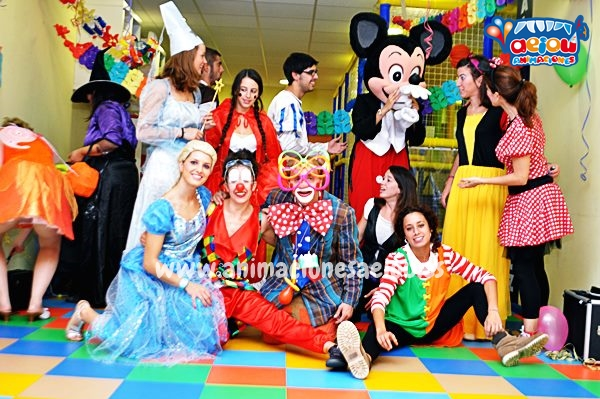 Animaciones para fiestas de cumpleaños infantiles y comuniones en Monforte de Lemos