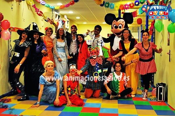 Animaciones para fiestas de cumpleaños infantiles y comuniones en Pereiro de Aguilar