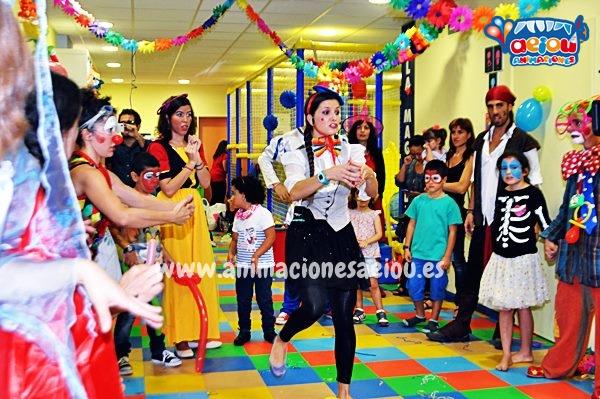Animaciones para fiestas de cumpleaños infantiles y comuniones en Sanxenxo