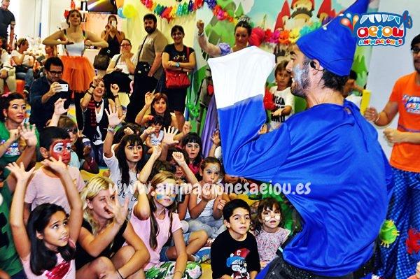 Animaciones para fiestas de cumpleaños infantiles y comuniones en Sarria