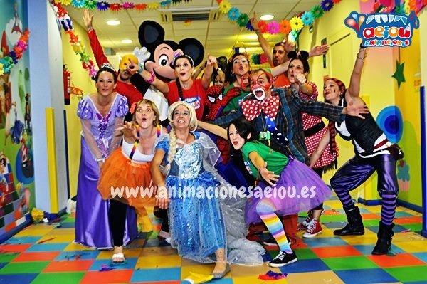 Animadores para fiestas infantiles en A Coruña