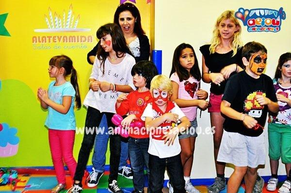 Payasos para fiestas infantiles en A Coruña