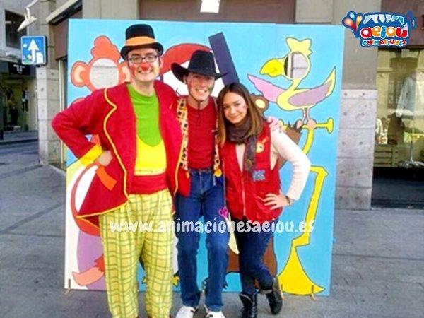 Animadores, magos y payasos en Pereiro de Aguilar