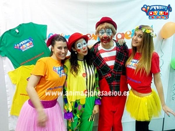 Payasos para fiestas infantiles en Moaña